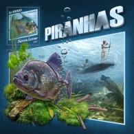 Sierra Leone 2017 Piranhas S2017-11 - Sierra Leone (1961-...)