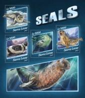 Sierra Leone 2017 Seals S2017-11 - Sierra Leone (1961-...)