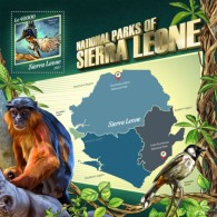 Sierra Leone 2017 National Parks S2017-11 - Sierra Leone (1961-...)