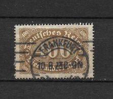 LOTE 1667  ///   ALEMANIA IMPERIO  YVERT Nº: 158 CON FECHADOR DE FRANKFURT - Germany