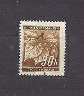 Bohemia & Moravia Böhmen Und Mähren 1941 Gest ⊙ Mi 64 Sc 24A Lindenzweig Mit Lindenfrüchten I. Linden Leaves C1 - Bohemia & Moravia
