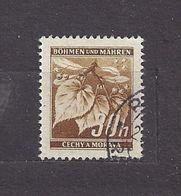 Bohemia & Moravia Böhmen Und Mähren 1941 Gest ⊙ Mi 64 Sc 24A Lindenzweig Mit Lindenfrüchten I. Linden Leaves C3 - Bohemia & Moravia