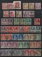 SVIZZERA - HELVETIA - (Vedere Fotografia) (See Photo) Lotto- 1906-14 (45 Stamps) - Used Stamps