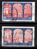 FRANCE 1930 - Y.T. N° 263 X 2 NUANCES   - OBLITERES - - Used Stamps