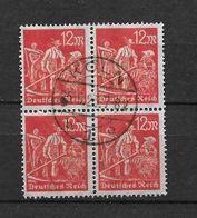 LOTE 1667  ///   ALEMANIA IMPERIO  YVERT Nº: 177  BLOQ DE 4  CON FECHADOR DE KOLN - Germany