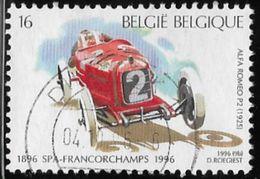 Belgium SG3335 1996 Centenary Of Motor Racing At Spa 16f Good/fine Used [36/30344/6D] - Belgium