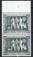 Belgium 1958 50c Labor Union Issue  #516  MNH Pair - Belgium