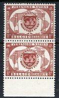 Belgium 1958 8f Int Monetary Fund Issue  #523  MNH Pair - Belgium