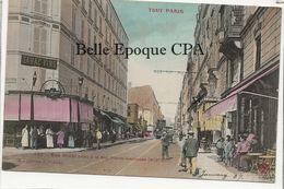 75 - TOUT PARIS 14 - #432 - Rue Didot Prise à La Rue Pierre-Larousse +++ Coll. F. FLEURY +++ Colorisée - Arrondissement: 14
