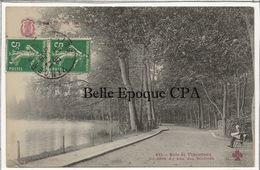75 - TOUT PARIS 12 - #432 - Bois De Vincennes - Un Coin Du Lac Des Minimes +++ Coll. F. FLEURY +++ 1913 - Arrondissement: 12