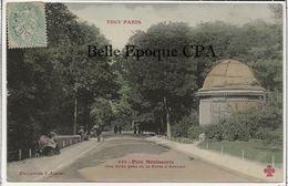 75 - TOUT PARIS 14 - #433 - Parc Montsouris - Une Allée Près De La Porte D'Arcueil +++ Coll. F. FLEURY +++ 1905 - Arrondissement: 14