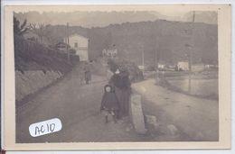SAINT-RAPHAEL- CARTE-PHOTO- SUR LA ROUTE- 1920 - Saint-Raphaël