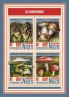 Niger 2017 Mushrooms  S2017-12 - Niger (1960-...)
