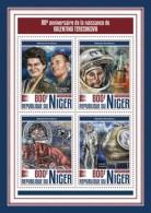 Niger 2017 Valentina Terechkova S2017-12 - Niger (1960-...)