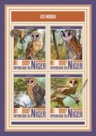 Niger 2017 Owls S2017-12 - Niger (1960-...)