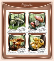 Sao Tome 2017 Mushrooms S2017-12 - Sao Tome Et Principe