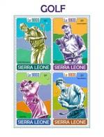 Sierra Leone 2017 Golf  S2017-12 - Sierra Leone (1961-...)