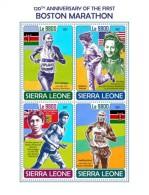 Sierra Leone 2017 Boston Marathon S2017-12 - Sierra Leone (1961-...)