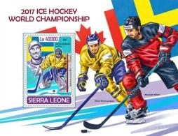 Sierra Leone 2017 Ice Hockey S2017-12 - Sierra Leone (1961-...)