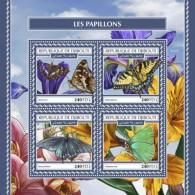 Djibouti 2017 Butterflies S2017-12 - Djibouti (1977-...)