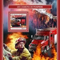 Djibouti 2017 Fire Engines S2017-12 - Djibouti (1977-...)