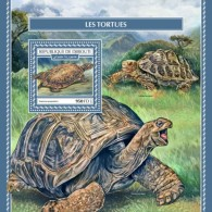Djibouti 2017 Turtles S2017-12 - Djibouti (1977-...)