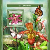 Djibouti 2017 Orchids S2017-12 - Djibouti (1977-...)