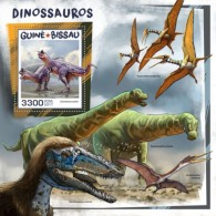 Guinea Bissau 2017 Dinosaurs S2017-12 - Guinea-Bissau