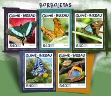 Guinea Bissau 2017 Butterflies S2017-12 - Guinea-Bissau
