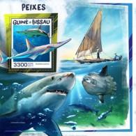Guinea Bissau 2017 Fishes S2017-12 - Guinea-Bissau