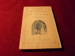 PETITE BIBLIOTHEQUE OMNIBUS  No 82 COLLECTION ROY  UN FAUX PAS PAR XAVIER DE NANTEAU   TOME DEUX - Livres, BD, Revues