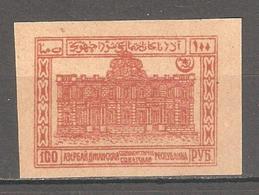 Soviet Azerbaijan 1922, 100 Rubles,Sc 21,VF MNH** - Azerbaïjan