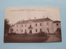 Château De La Gibraye - Façade Sur La Loire ( 639 - F. Chapeau ) Anno 1949 ( Voir Photo Svp ) - Saint-Sébastien-sur-Loire
