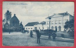 Lokeren - Gare Et Télégraphes - 1911 ( Verso Zien ) - Lokeren