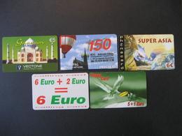 TK Österreich 5 Prepaid Karten Gebraucht - Austria