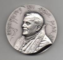 Italia - 2005 - Medaglia Papa Benedetto XVI° Pont. Max - Madonna Di Loreto - Peso 135 Grammi - (MW1201) - Autres
