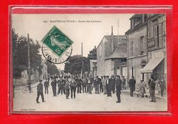 78-CPA MANTES LA VILLE - Mantes La Ville