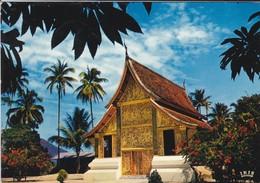ASIE---RARE---LAOS--pavillon Du Char Funéraire Royal--province De Luang Prabang--voir 2 Scans - Laos