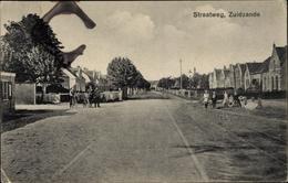 Cp Zuidzande Sluis Zeeland Niederlande, Straatweg, Straßenpartie - Non Classés
