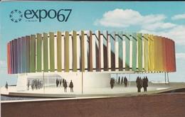 CANADA---MONTEAL---EXPO67--le Pavillon Kaleidoscope--voir 2 Scans - Montreal