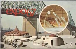 CANADA---MONTEAL---EXPO67--- Pavillon Alcan--voir 2 Scans - Montreal