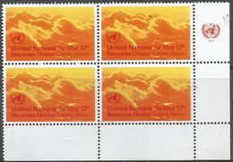 UN New York - 1972 Airmail 17c Corner Block Of 4 MNH **   Sc C17 - New York -  VN Hauptquartier