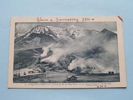 L'Aiguille Du Goûter Et Le Chemin De Fer Du Mont-Blanc Vus Du Nouvel Hôtel Du COL De VOZA (4) 1928 ( Voir Photo Svp ) ! - Saint-Gervais-les-Bains
