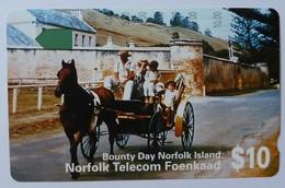 NORFOLK ISLAND - Tamura - $10 - Bounty Day - Mint - Norfolk Island