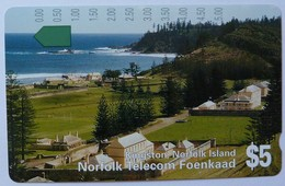 NORFOLK ISLAND - Tamura - $5 - Kingston - Mint - Norfolk Island