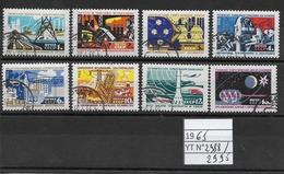 RUSSIE / URSS Année 1965 / Création De Matériel Technique Série Complete De 8 Timbres Oblitérés - - Oblitérés