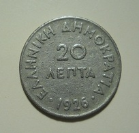 Greece 20 Lepta 1926 - Grecia