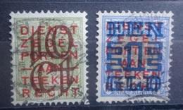 NEDERLAND   1923   Nr.  132 - 133    Gestempeld     CW  26,50 - Period 1891-1948 (Wilhelmina)