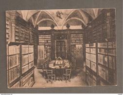 BIBLIOTECA ABBAZIA MONTECASSINO DISTRUTTA DALL'AVIAZIONE ANGLO-AMERICANA 1944 - CARTOLINA NON VIAGGIATA - Italy