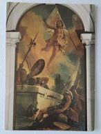 527 - Cartolina Gian Battista Tiepolo La Resurrezione Udine Duomo - Peintures & Tableaux
